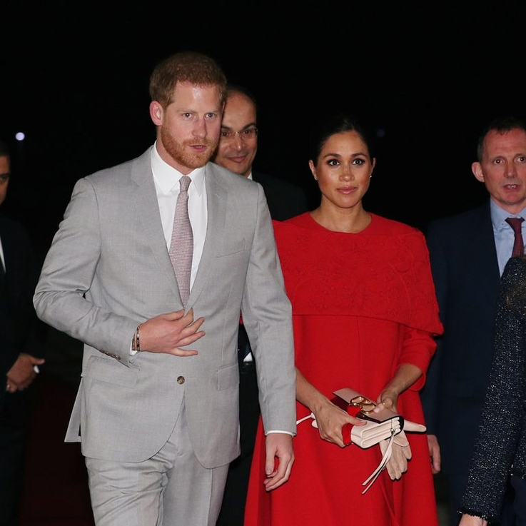 Meghan And Harry Arrive In Morocco For Their Last Royal Tour Before The Baby