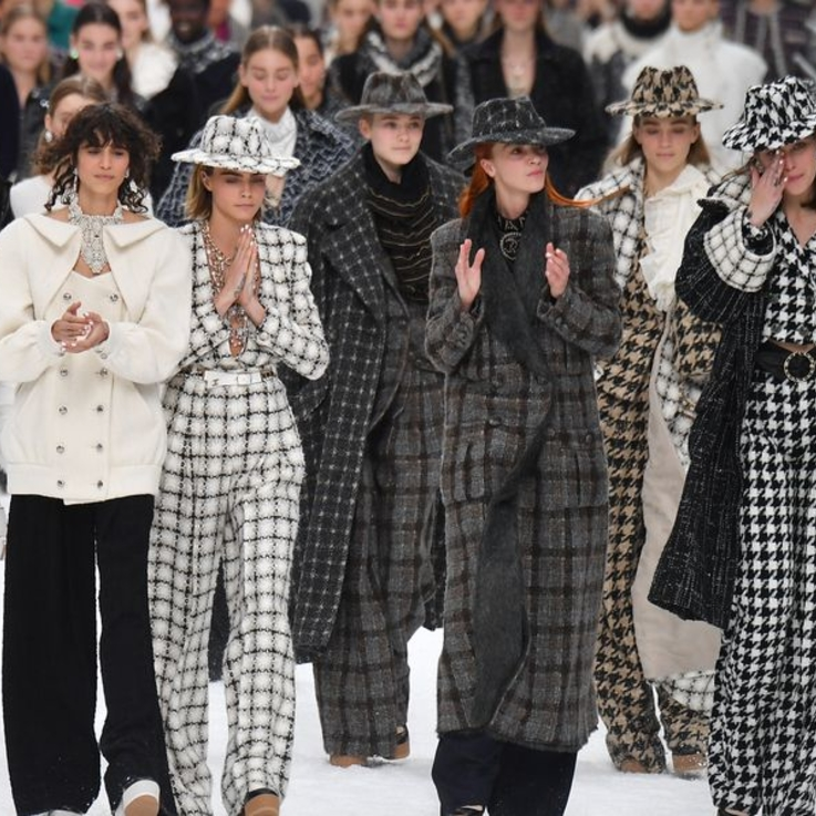 The Chanel Show Was An Emotional Goodbye To Karl Lagerfeld