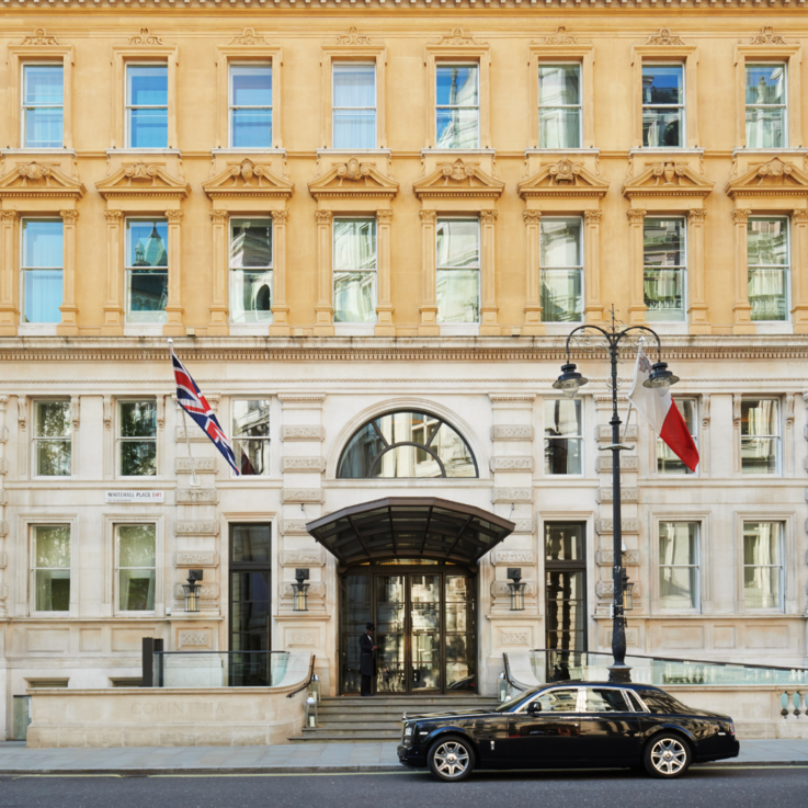 Room With A View: Corinthia Hotel London