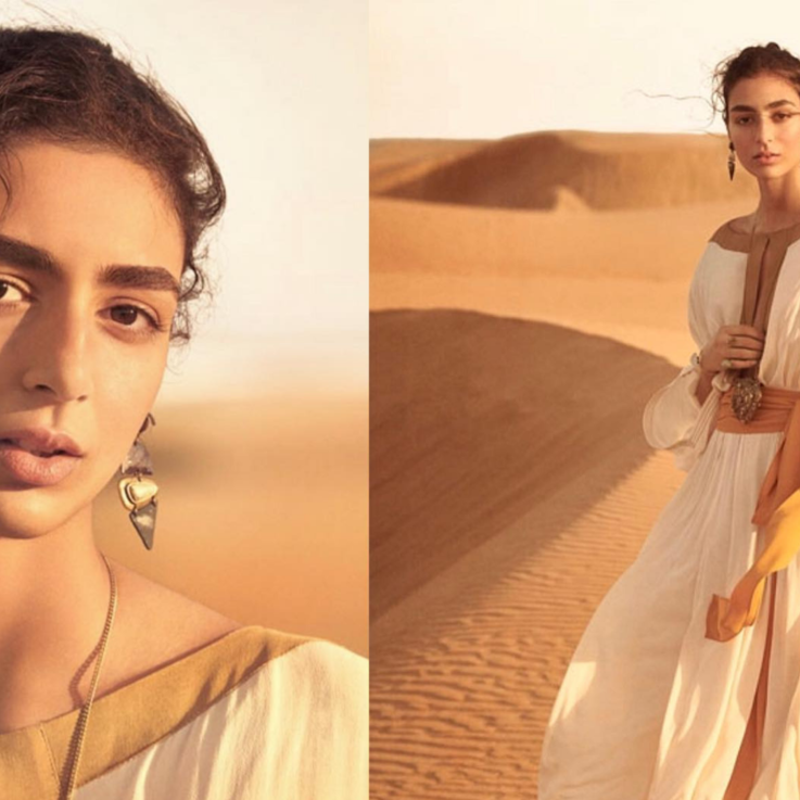 Nora Attal Shoots Her Latest Campaign For Zara In The Moroccan Desert