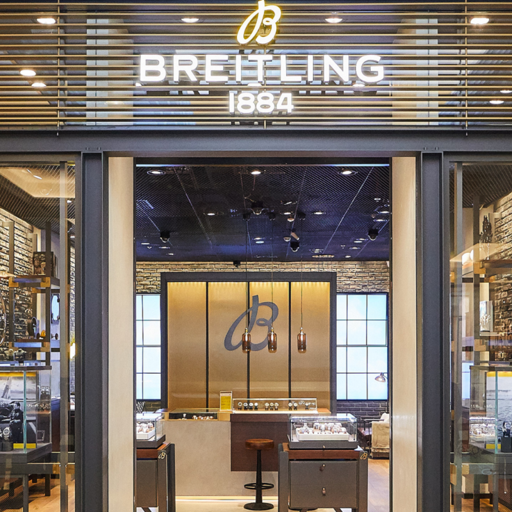 Breitling's New Dubai Boutique Is The Epitome Of Industrial Chic