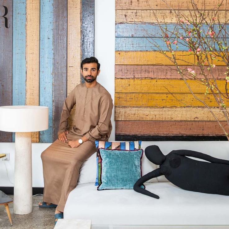 EXCLUSIVE: Emirati Filmmaker Abdulla Al Kaabi Takes Bazaar Inside his Jumeirah Home