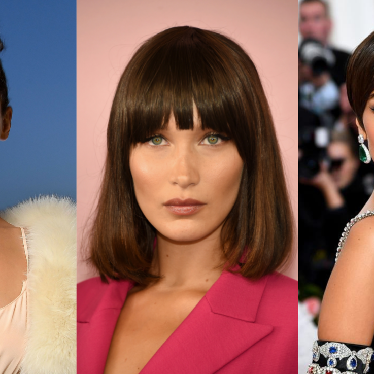 Bella Hadid's Best Red Carpet Hairstyles Ever