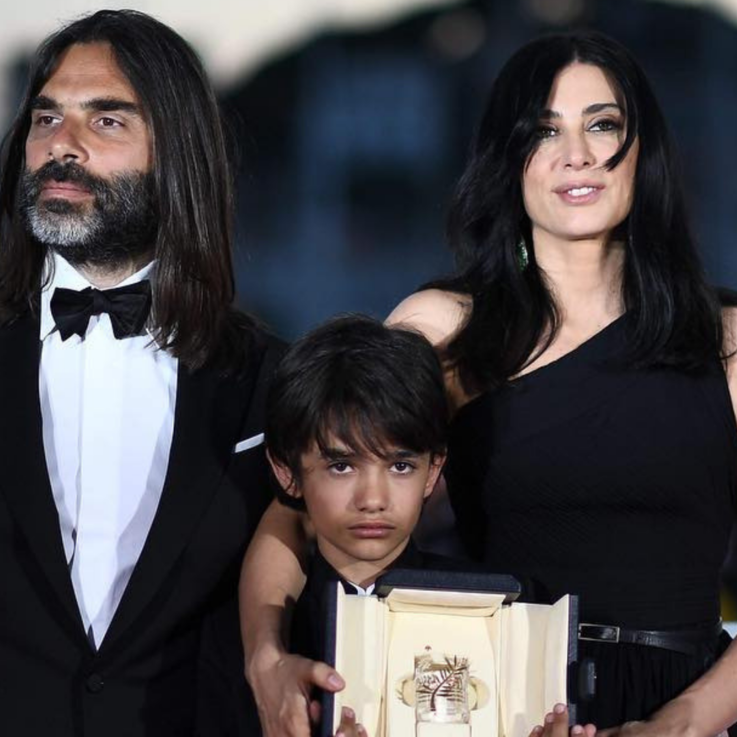 Nadine Labaki Stuns In Dior On Cannes Film Festival's First Night