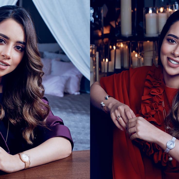 Emirati Singer Balqees Fathi Stuns In Piaget's Ramadan Campaign