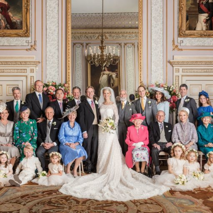 Pictures: Inside Lady Gabriella Windsor's Wedding