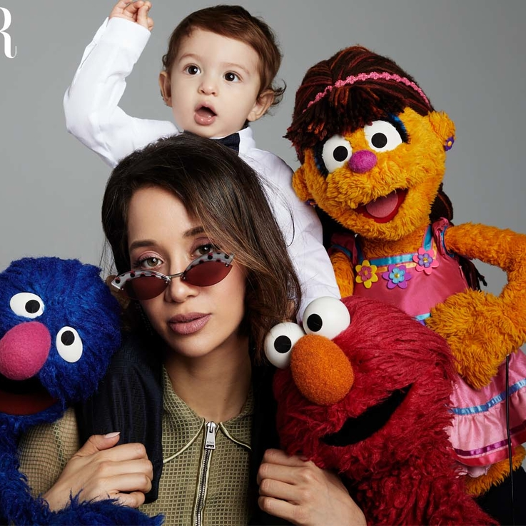 When Lana El Sahely And Her Son, Zayd Met The Characters Lighting Up The Streets Of Iftah Ya Simsim