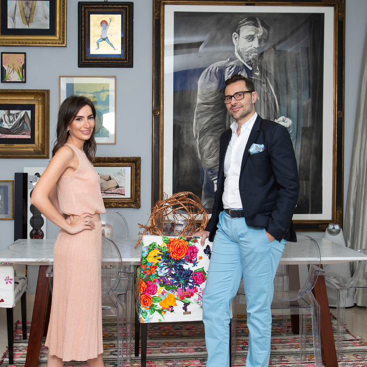 Recreating Never-Never Land: The Art Collection Of Sara and Nassib Abou Khalil
