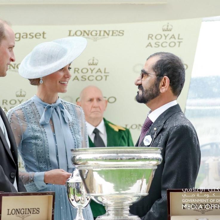 Sheikh Mohammed Celebrates At Royal Ascot As UAE Horse Makes History