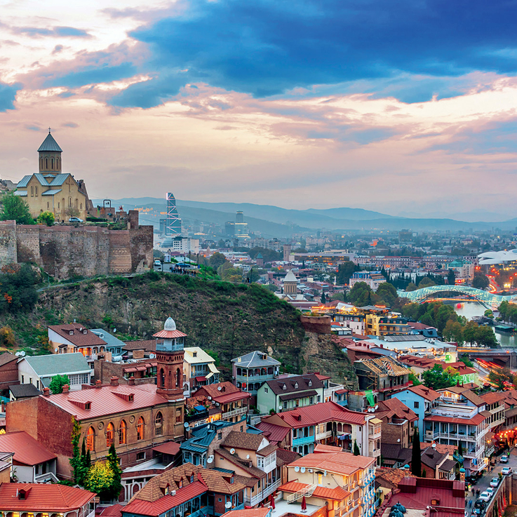 The Escape | Inside BAZAAR's Art-Filled Escapade To The Georgian Capital Of Tbilisi