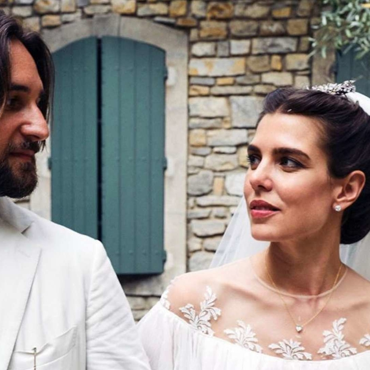 Grace Kelly's Granddaughter Charlotte Casiraghi Hosted A Second Royal Wedding In Provence