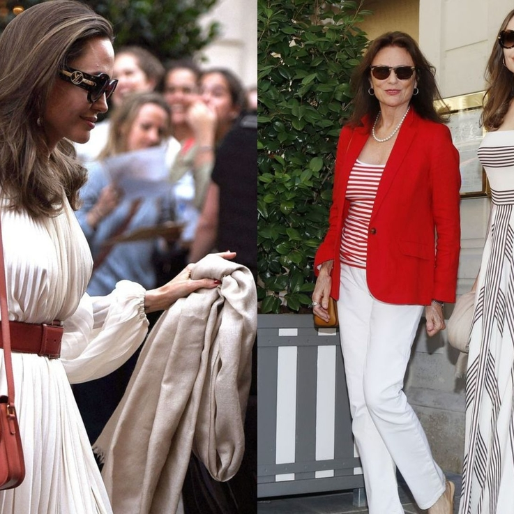 Angelina Jolie Proves She Is, In Fact, A Greek Goddess