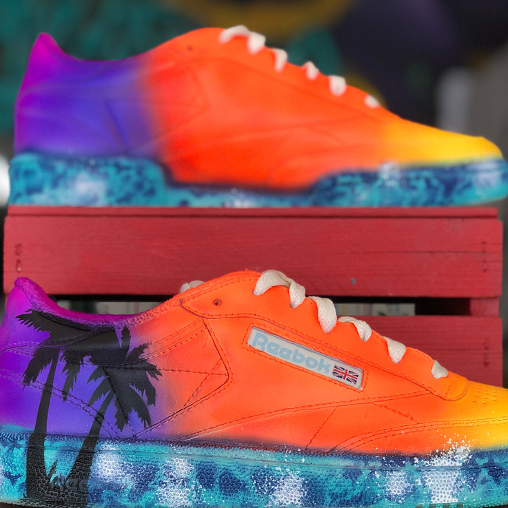 You Can Now Get Your Reeboks Personalised In Dubai By A Modern-Day Picasso