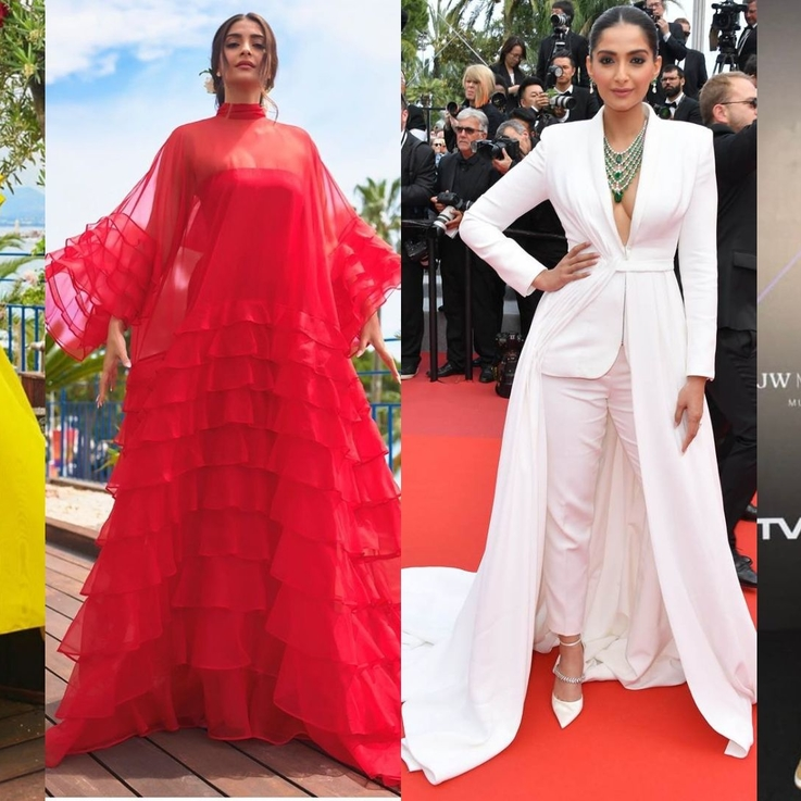 Pictures: 18 Of Sonam Kapoor's Showstopping Red Carpet Looks