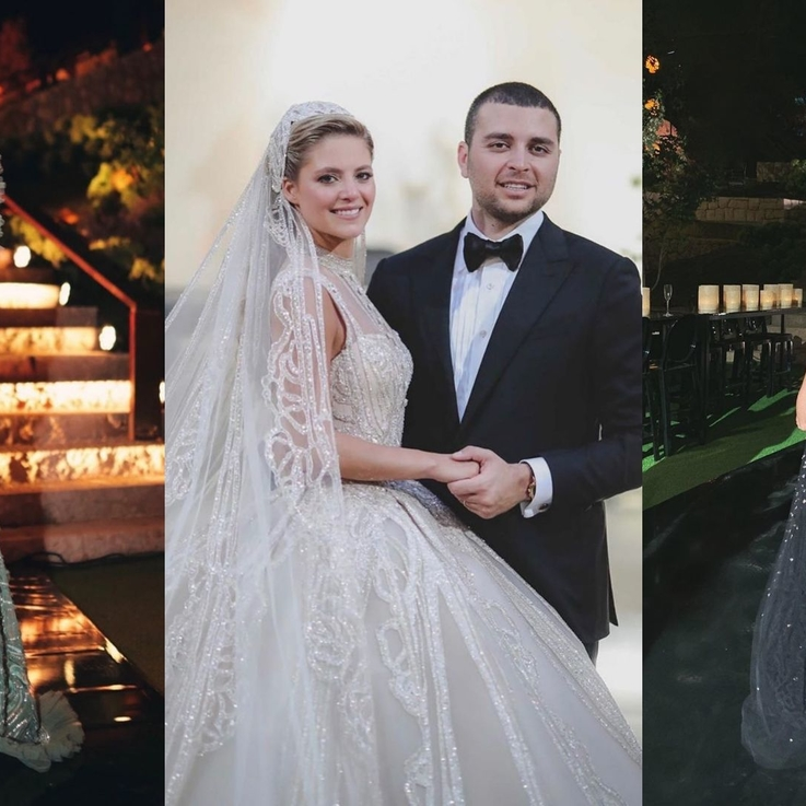 The Most Glamorous Guests At Elie Saab Jr. And Christina Mourad's Wedding