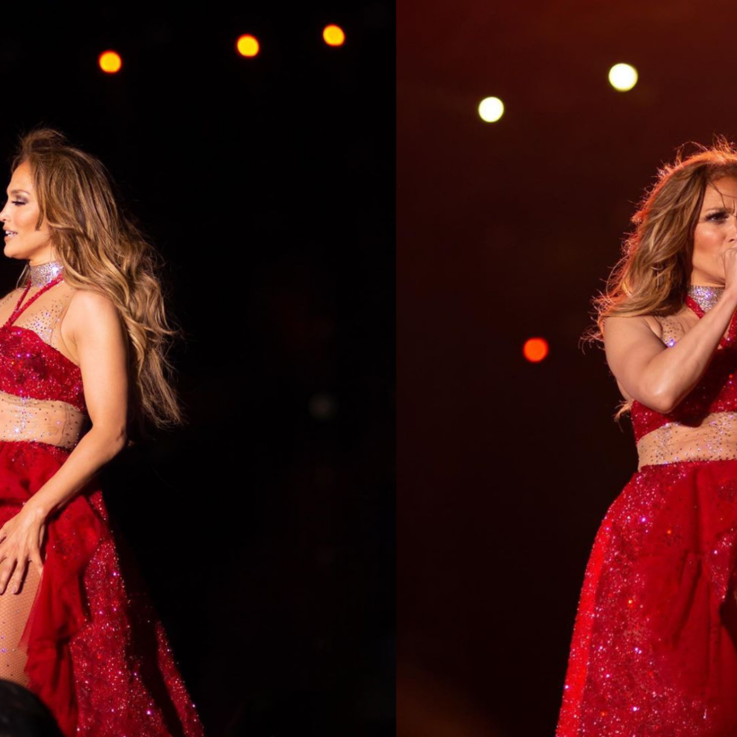 Jennifer Lopez Performed In Egypt For The First Time And Chose An Egyptian Designer For The Occasion