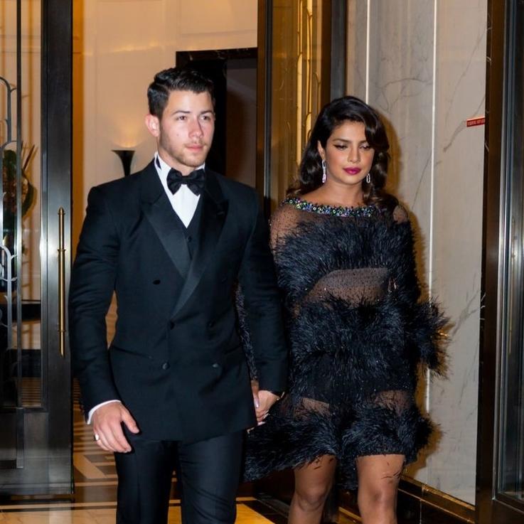 Priyanka Chopra Puts A Stylish Spin On The LBD For Joe Jonas' 30th Birthday