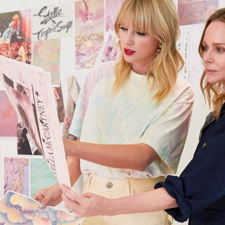 Stella McCartney Unveils Taylor Swift Collaboration