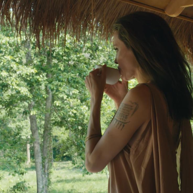 EXCLUSIVE: Watch Angelina Jolie Show Off Her Rainforest Home