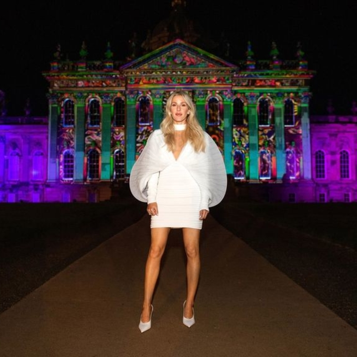 Ellie Goulding Reveals Her Second, Third And Fourth Wedding Dress
