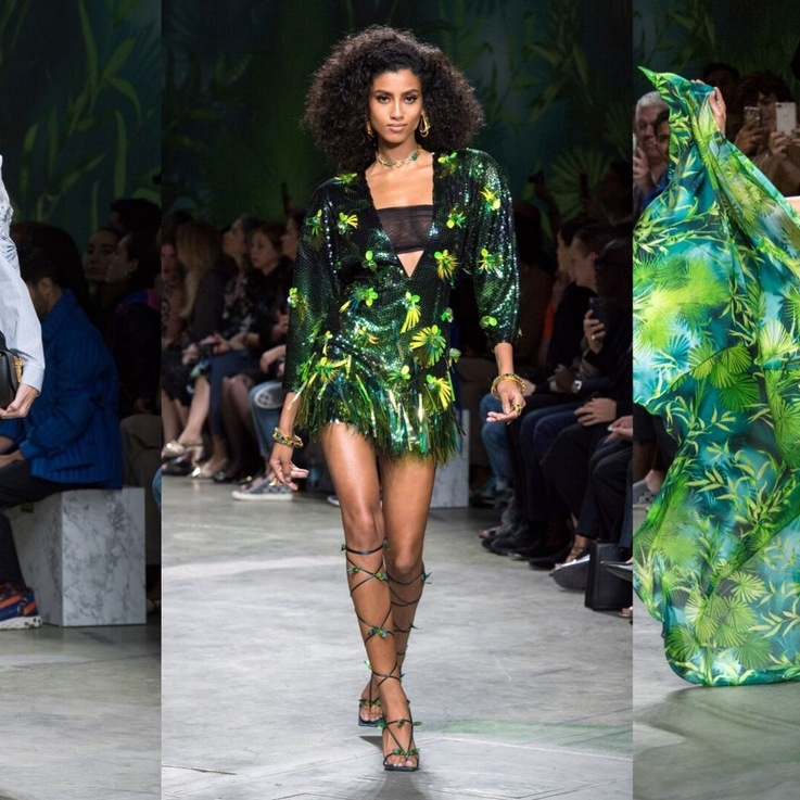 Every Single Look From The Versace S/S20 Show