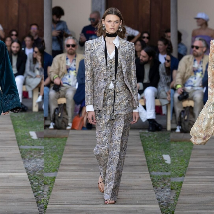 Every Single Look From ETRO Women's S/S20 Show