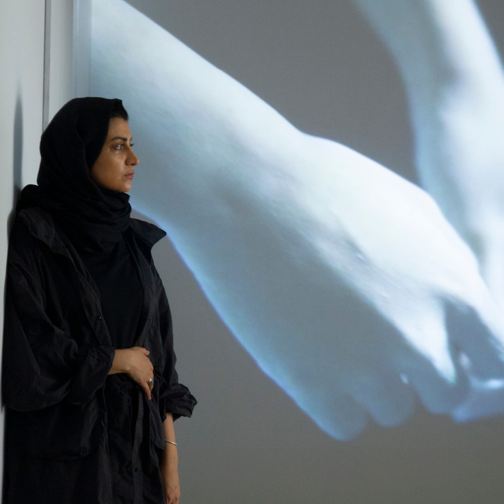 Riyadh-Based Artist Marwah AlMugait's 3D Projection Mapping In Jeddah Gives Form To The Invisible