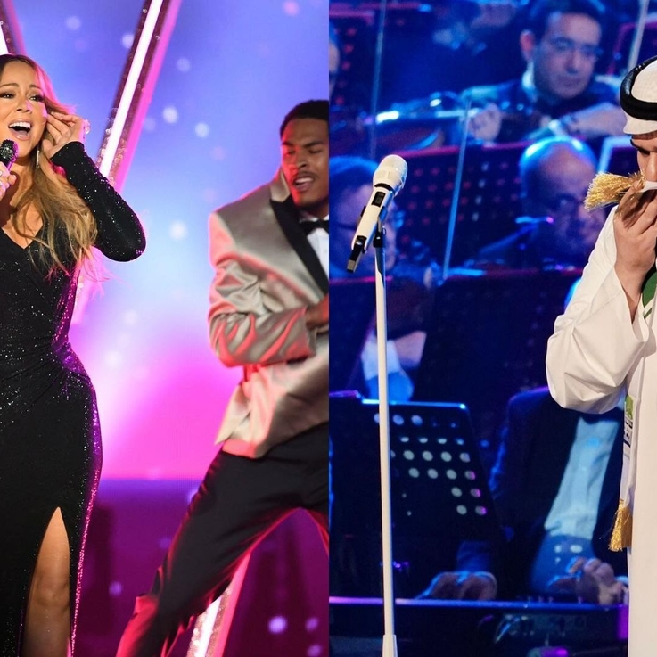 Mariah Carey And Hussain Al Jassmi Are Performing Live In Dubai For Expo 2020
