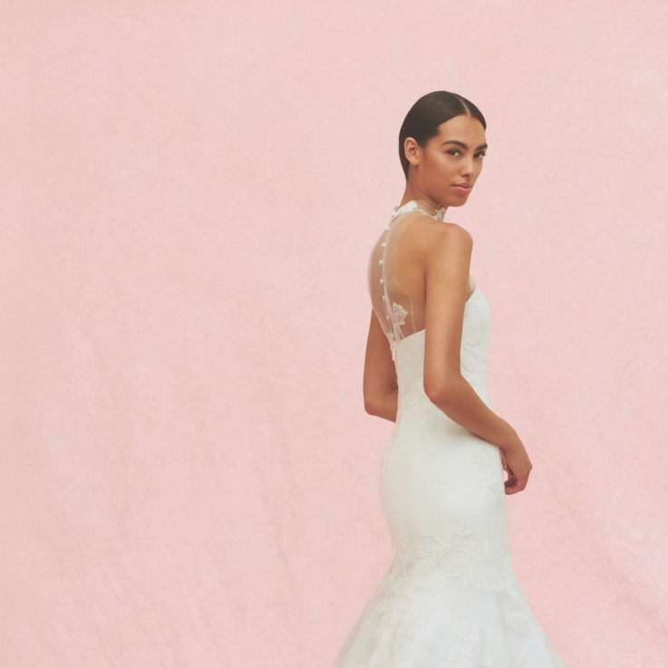 A First Look At Carolina Herrera's Fall 2020 Bridal Collection