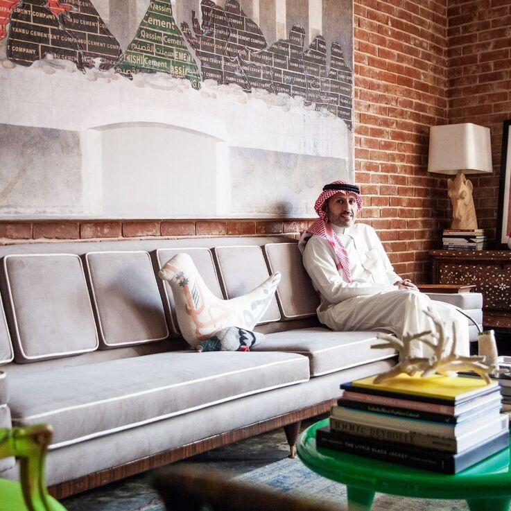 Eclectic Grandeur: Prince Sultan Bin Fahad Bin Nasser Al-Saud Reveals His Stunning Riyadh Residence