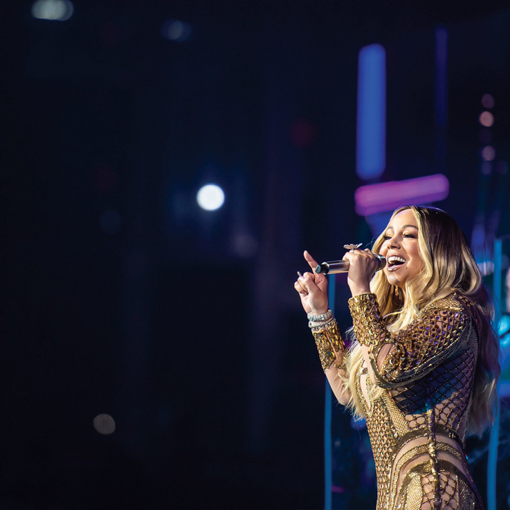 Mariah Carey Wore A Gown By This Dubai-Based Designer Last Night