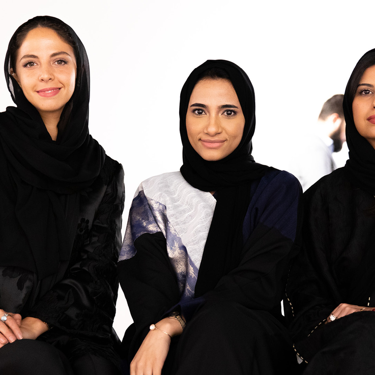 Meet The Emerging Saudi Artists Who Are Promoting Female Empowerment Through Art