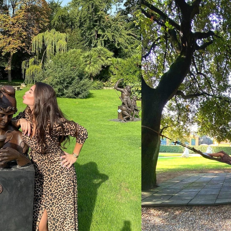 Inside Yasmine Sabri's Glamorous Italian Holiday