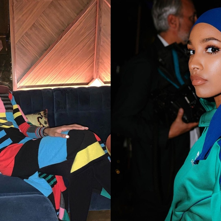 This Is The First Hijabi Model To Be Part Of Burberry's Festive Campaign