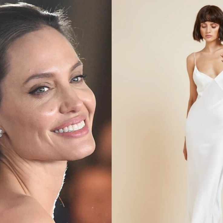 Here's Where You Can Buy Angelina Jolie's Dhs1,550 Silk Slip Dress In The UAE
