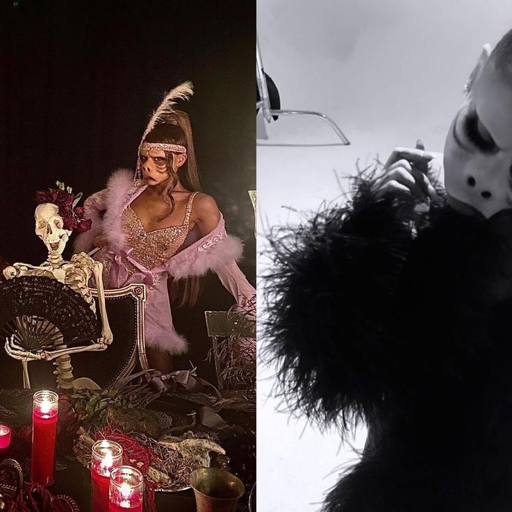 Ariana Grande's Twilight Zone Halloween Party Had Lizzo, Nicki Minaj, Blackpink's Jennie, And Piggy Smallz