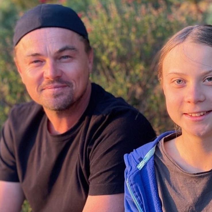 Leonardo DiCaprio Shares An Inspirational Message On Instagram With Greta Thunberg