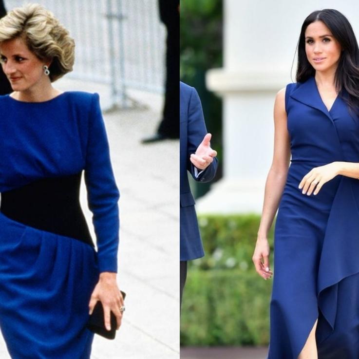 12 Times Meghan Markle Channeled Princess Diana's Royal Style