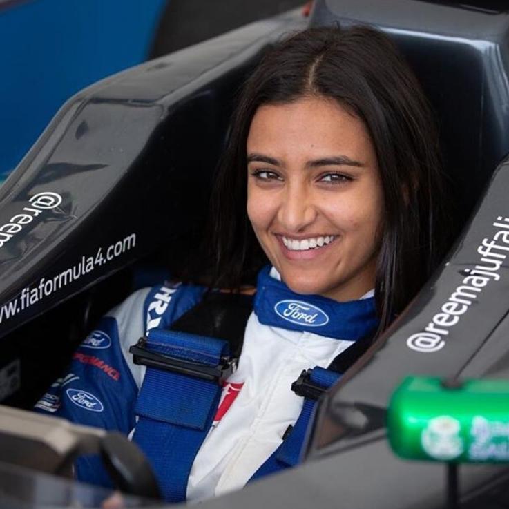 Meet Saudi Arabia's First Female Racer: Reema Juffali
