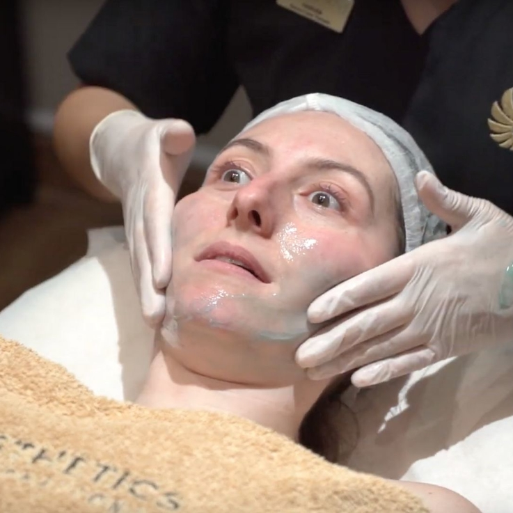 Watch | Bizarre Beauty: A Tale Of Two Extremes, A Fire And Ice Facial