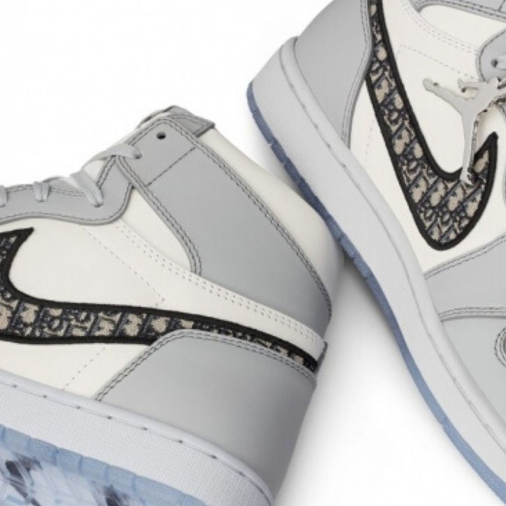 Dior Collaborates With Air Jordan On Air Dior Sneakers