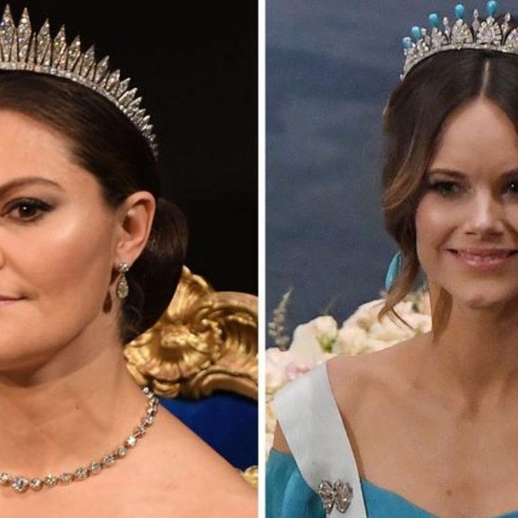 Sweden's Royals Wore All The Tiaras At The Nobel Prize Ceremony