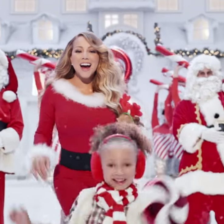 """Watch   Mariah Carey's Magical New """"All I Want For Christmas"""" Video"""