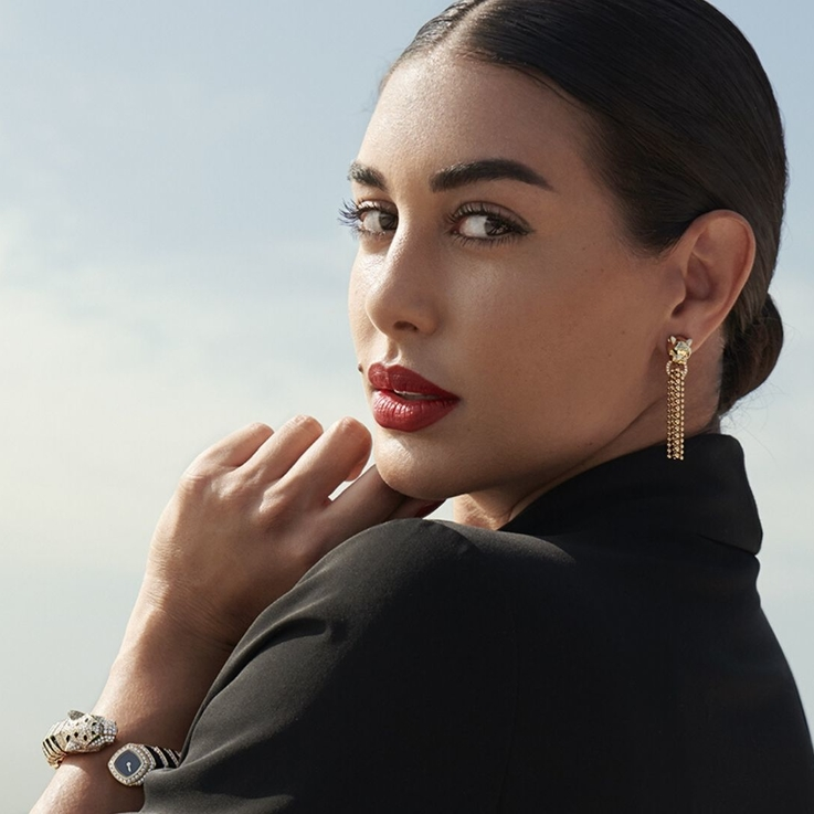Watch | An Exclusive First Look At Yasmine Sabri's Panthère De Cartier Campaign