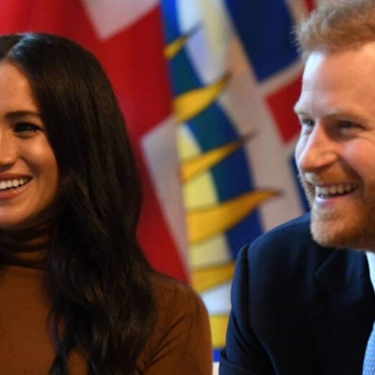 Meghan Markle And Prince Harry Are All Smiles As They Return To The Public Eye