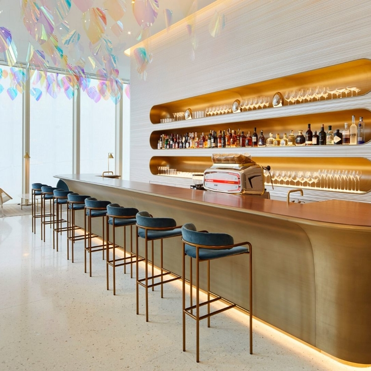 Inside Louis Vuitton's First-Ever Café And Restaurant