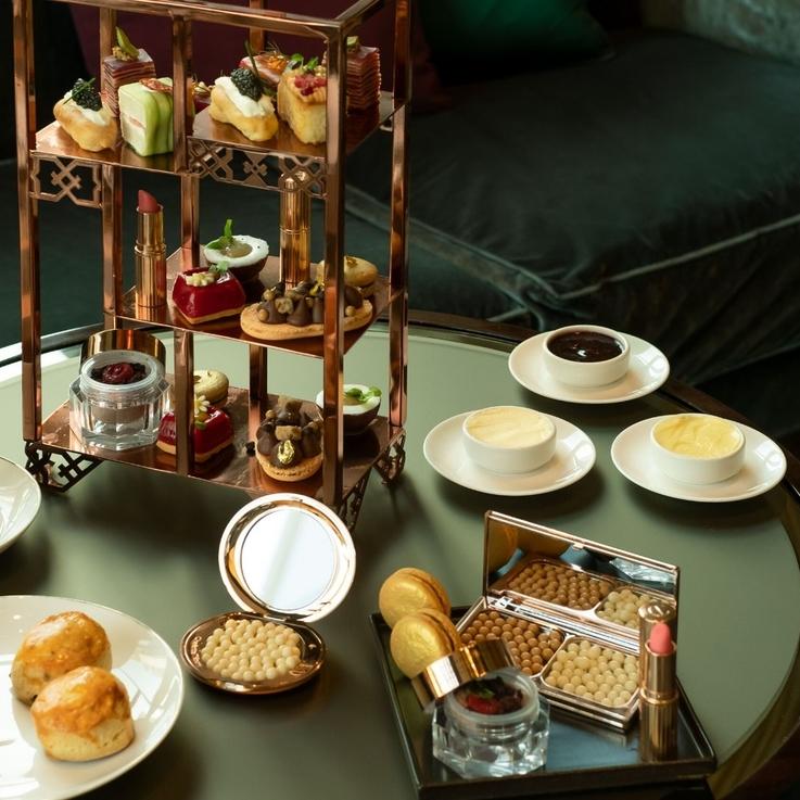 #ChicEats | The Charlotte Tilbury Afternoon Tea, Four Seasons Hotel Dubai DIFC