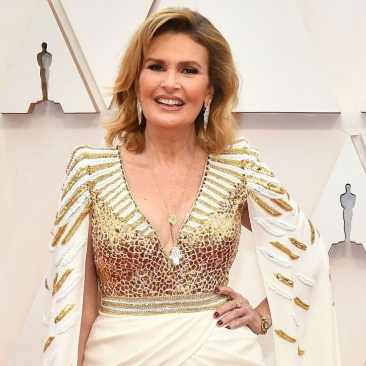 Cinematic Icon Yousra Was A Vision In Zuhair Murad At The Oscars