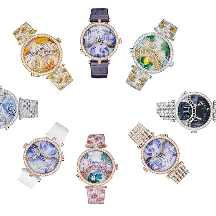 Van Cleef & Arpels' Lady Arpels Pont Des Amoureux Timepiece Is A Labour Of Love