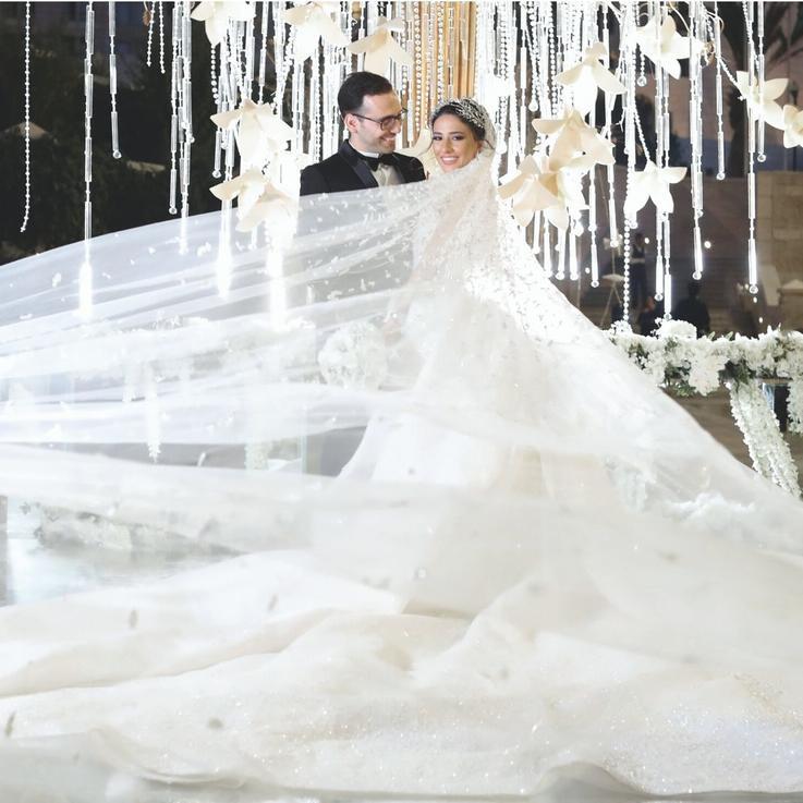 Inside The Wedding Of Hanin Zawaideh And Ibrahim Taweel